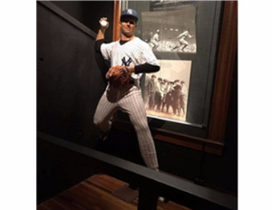 紐約棒球傳奇蠟像館(New York baseball legend wax mu